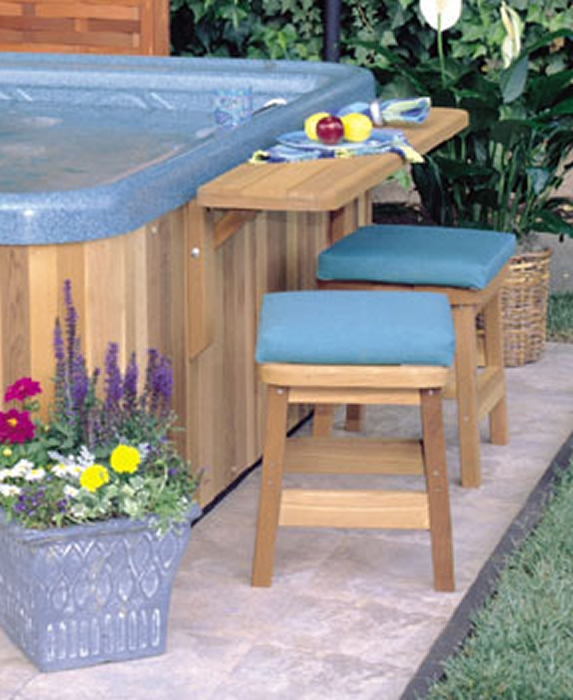 Outdoor Hot Tub Accessories Pictures To Pin On Pinterest